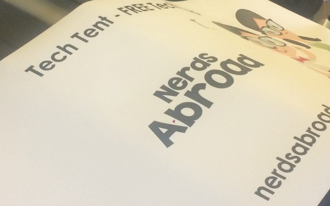 Nerds Abroad comes to Tigard Bull Mountain Farmers Market on July 30th and 31st!